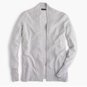 J. Crew Italian Cashmere Long Open Sweater